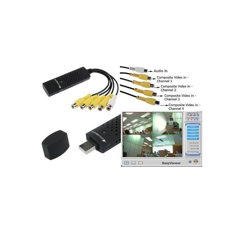 CCTV USB 4 CANALES