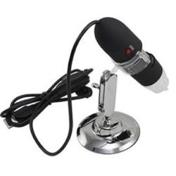 Microscopio USB 25x - 200x Para Ordenador PC Móvil o Tablet Android