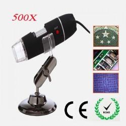 Microscopio USB 50x - 500x Para Ordenador PC Móvil o Tablet Android